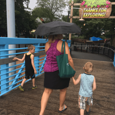 What if it Rains at Dutch Wonderland?