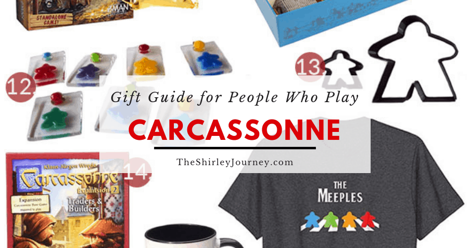 The Best Gifts for People Who Play Carcassonne