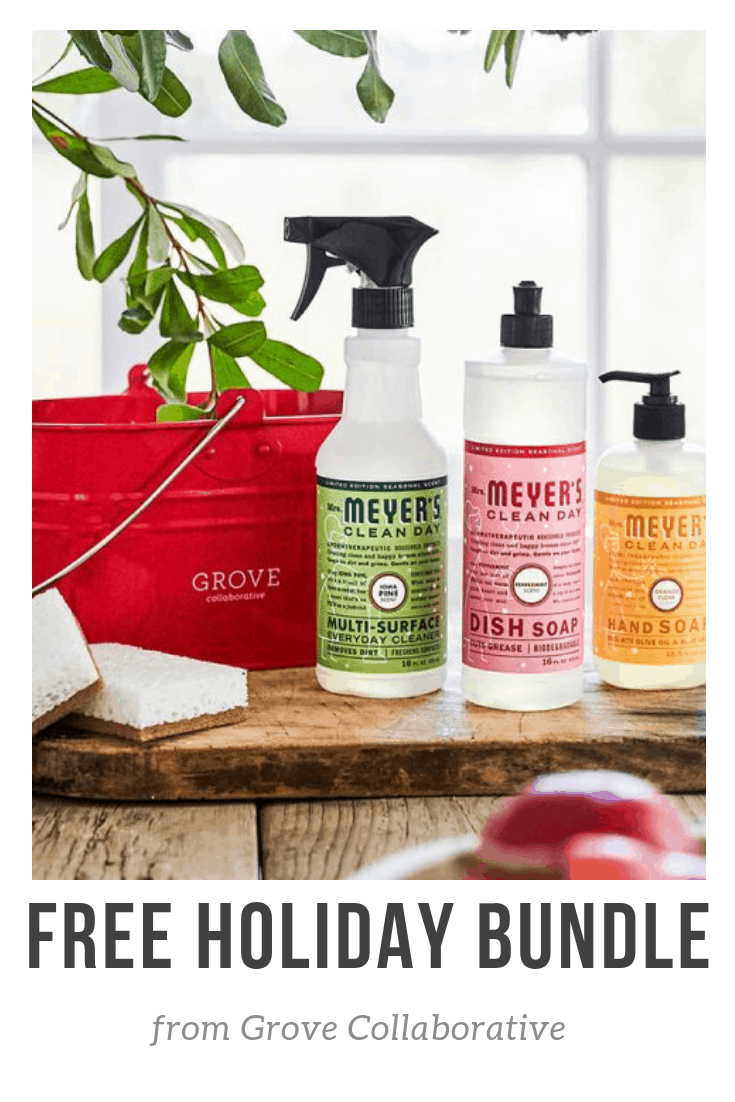 Free Mrs Meyer S Holiday Products From Grove Collaborative The Shirley Journey