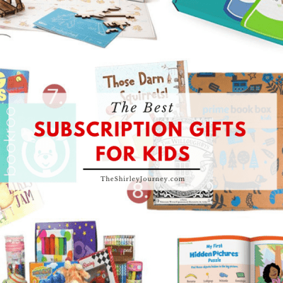 The Best Subscription Box Gifts for Kids