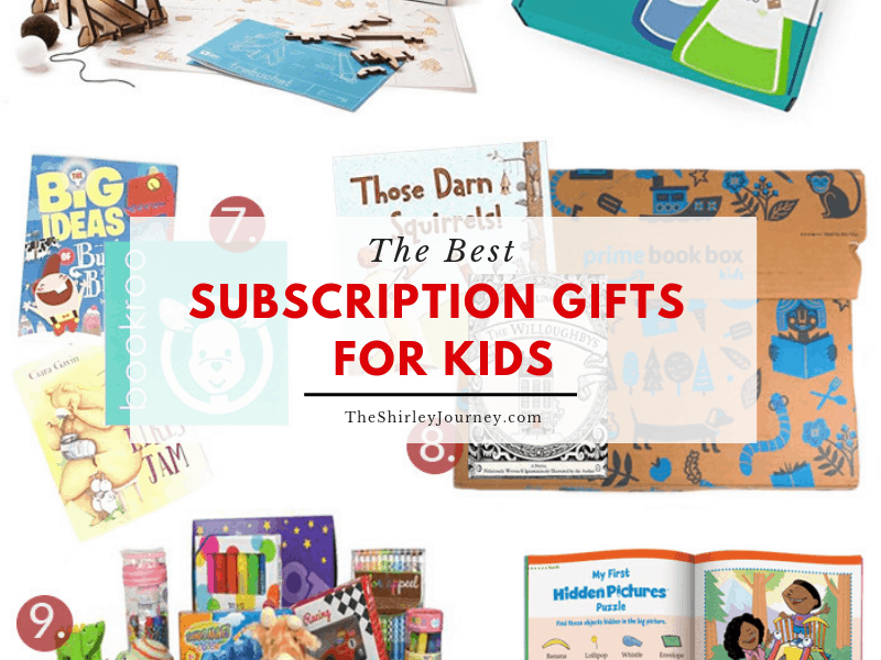 My kids have tons of u201cstuffu201d around the house and after Christmas and every birthday thereu0027s even more to fill up their rooms and playroom.  sc 1 st  The Shirley Journey & The Best Subscription Box Gifts for Kids - The Shirley Journey