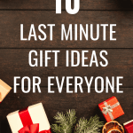 10 Last Minute Gift Ideas for Everyone