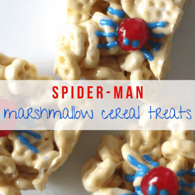 Spider-Man Marshmallow Cereal Treats