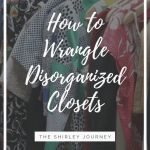 Wrangling Disorganized Closets