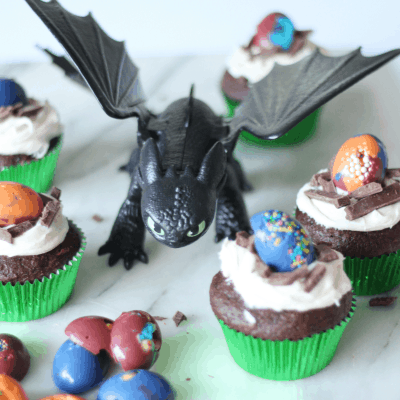 Dragon Egg Cupcakes