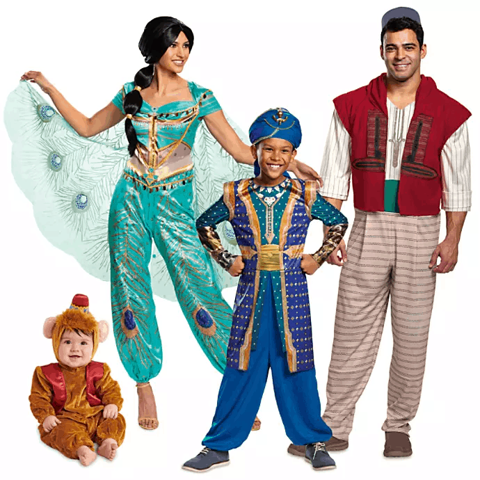 Aladdin Costume Collection for Family