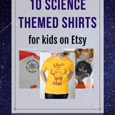 10 Science-Themed Shirts for Kids