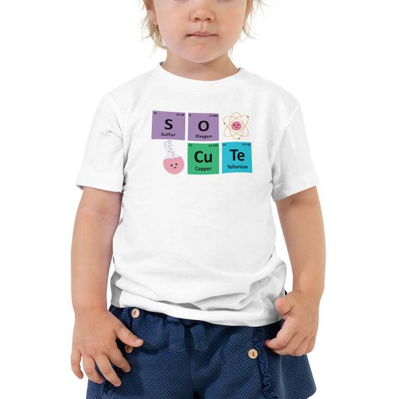 Science Elements So Cute Kids Tee
