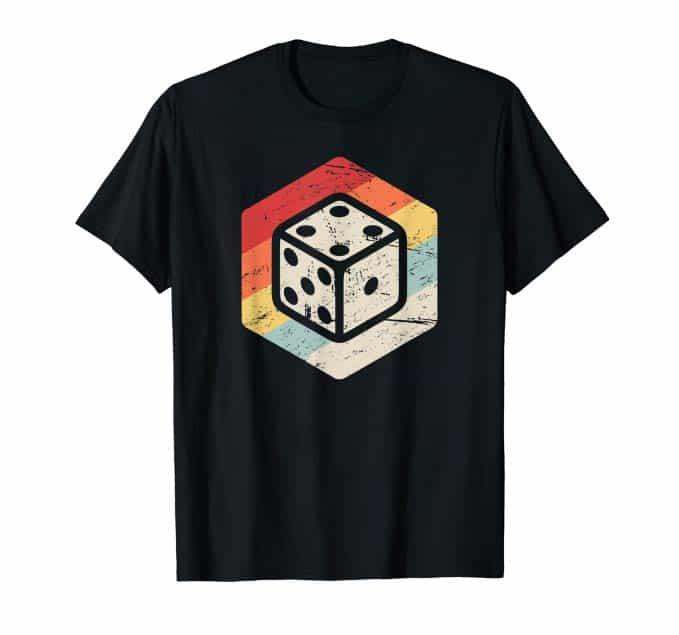 Retro Vintage Boardgame Designer T-Shirt