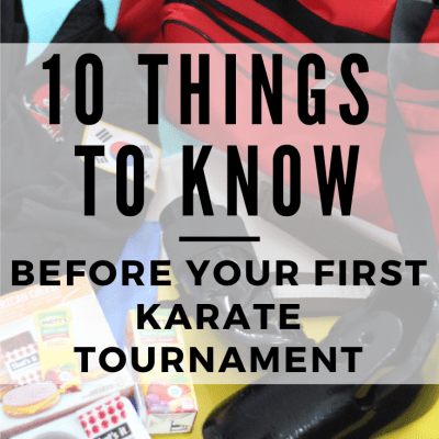 10 Things to Know Before your First Karate Tournament