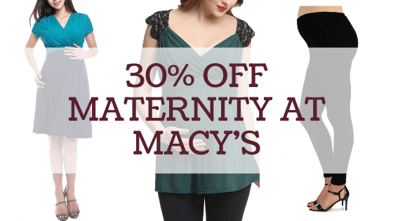Macy S Maternity Sale Save 30 The Shirley Journey