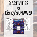 Disney Pixar Onward Digital Release + Free Activity Pages