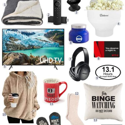 Gifts for Binge-Watchers
