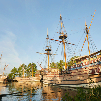 Explore Jamestown Settlement